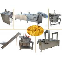 Best Continuous Banana Chips Making Machine / Industrial Banana Chips Fryer Machine wholesale