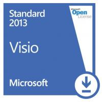 China Online Download Computer PC System Microsoft Visio Standard 2013 Open License on sale