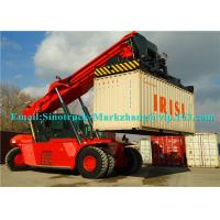 Best 265kW Engine Shipping Container Lifting Equipment Sany Heli Kalmer Reachstacker SRSC45C31 wholesale