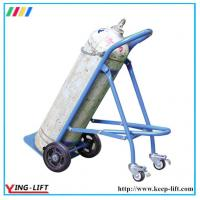 Best Solid Rubber Wheels Hand Trolley For Gas Cylinder TY120 wholesale