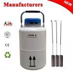 Best TIANCHI LN2 Tank 3L Semen Freezer Container Animal Husbandry China Price wholesale