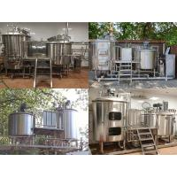 China Beer Brewhouse Equipment 200L 300L 500L Stainless Steel Beer Brewing Equipment on sale