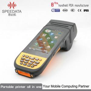 Best 2D Bar Code PDA Thermal Printer Handheld Label Printer 512MB Memory wholesale