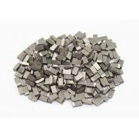 Best High Wearable Tungsten Carbide Saw Tips For Hardwood , Carbon Steel , Cork, YG6 ,YG6X wholesale