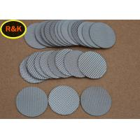 China Sintered Metal Wire Mesh Discs For Water Treatment High Strength Wear Resistance on sale