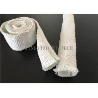 Best Expandable Fiberglass Braided Heat Insulation Sleeve / Sleeving High Intensity wholesale