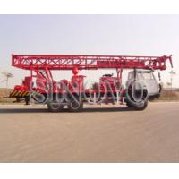 China Highly Efficient Water Well Drilling Rig SIN600 105mm - 305mm wholesale
