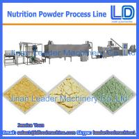 Best High Quality Nutrition powder processing eauipment,Baby rice powder food machinery wholesale
