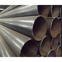 China API 5L Grade B linepipe ERW steel pipe used for oil/gas black and galvanized on sale