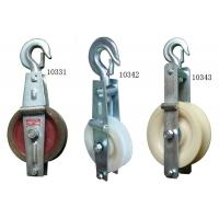 China Nylon Cable Pulley Block For Power Transmission Line Stringing Construction on sale