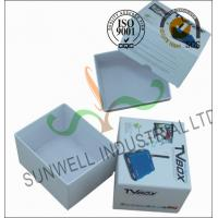 Best Corrugated Coated Paper Electronics TV Packaging Boxes White Color Matt Lamination wholesale