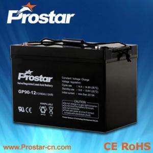 China Prostar 12v 90ah maintenance free battery on sale