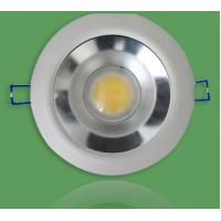 Best White COB 20w Dimmable Recessed LED Emergency Downlight Fixtures AC110V 1600lm wholesale