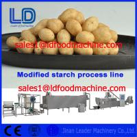 Best Food grade Stainless Steel Automatic Modified Starch extrusion Machinery wholesale