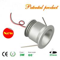 Best 3W LED Light Recessed Mini LED Downlights decorate wall panel spotlight 25mm hole size wholesale