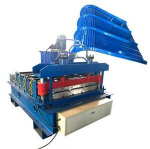China IBR Roof Sheet Cutting Bending Machine 220v 240v 380v 440v 50hz 3 Phase on sale