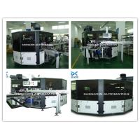 Buy cheap Flat Bed Silk Automatic Screen Printing Machine Turntable Type product