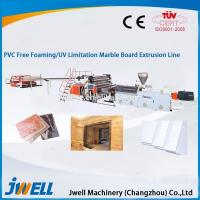 Cheap Jwell stone plastic composite artificial marble profile production line/making for sale