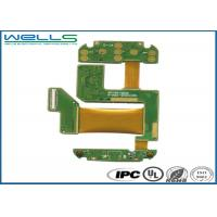 China Flex - Rigid PCB Circuit Board Assembly Lead Free HASL Surface For AR Product on sale