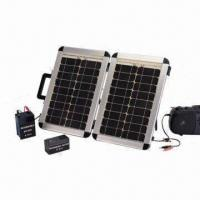Best 18W Solar Portable Folding Panel with 6 or 12V Rechargeable Battery wholesale