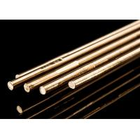 Best Copper Alloy Brass Brazing Rod 4 Mm Welding Rod For Stainless Steel HS221 Model wholesale
