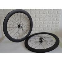 Best 700c Fixed Gear Carbon Track Wheelset 9mm Front Axle Single Speed Design wholesale