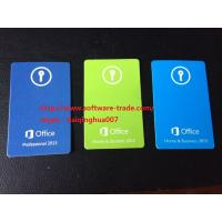 China 1 User Microsoft Ms Office 2013 Product Key Card 32/64 Bit Medialess on sale