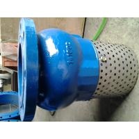China Screen Mesh CUSTOM flanged foot valve With Stainless Steel Screen Strainer on sale