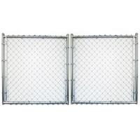 Best Back Yard Garden Fence Gate PVC Coated Surface Treatment with 10 Gauge wholesale