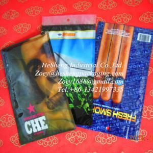 Best custom printed zipper cigar and tobacco bags wholesale