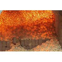 Best High Strength Refractory Balls 40mm , 50mm , 60mm , 70mm White Kaolin Clay wholesale