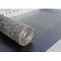China Flex Stainless Steel Mesh Conveyor Belt For Bread Industry , Easy Clean on sale