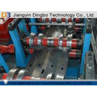 China Customized High Efficiency Metal Guardrail Roll Forming Machine With 380V 50Hz on sale