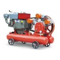 China Energy Saving Diesel Powered Air Compressor / Rock Drill Compressor Long Service Life on sale