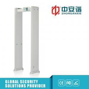 China Sensitivity Adjustable Metal Detector Security Gate For workshop Metal Detector Full Body Scanner on sale