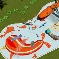China Children Sport Games Park Project Outdoor Playground Equipment on sale