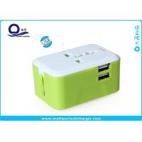China Compact Design All In One USB Power Adapter , International Voltage Converter 220v To 110v on sale
