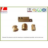 Buy cheap Computer Numerical Control CNC Machining Metal Parts Brass shaft product