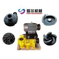Best Mineral Process Coal Washing Mining Slurry Pump Motor / Diesel Engine Fuel wholesale