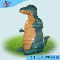 China PVC Tarpaulin Large Inflatable Dinosaur Air Advertising Man CE / UL on sale