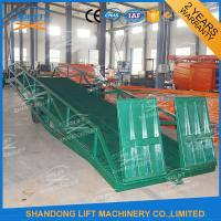 China Adjustable Warehouse Container Loading Ramps , Electric Container Yard Ramp on sale