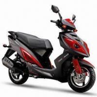 China Electric/Kick Start Gasoline Motor Scooter with 10.5:1 Compression Ratio and 4-stroke Engine on sale