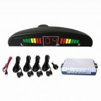 China Auto Parking Sensor with LCD Display, Centimeter Grade of Detection Distance, 12V DC Rated Voltage on sale