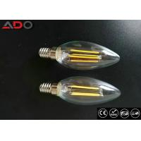 Best Milky Glass Led Candle Light Bulbs C35 Eco Friendly For Amusement Park wholesale
