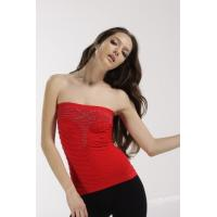 Best Lady's Red seamless tube top wholesale