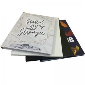 Best Eco - Friendly Printed School Memory Journal Book High School Yearbook Printing Service wholesale