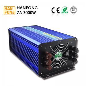 China Pure Sine Wave Solar Power Inverter 3000w DC 12V 24V 48V 96V 110V to AC 110V 220V for Solar System home solar energy on sale