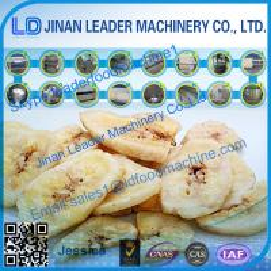 Best Banana Fruit chips process line -Jinan Leader Machinery wholesale