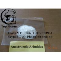Best Oral Anastrozole /Arimidex CAS 120511-73-1  raw powder 99% purity for gain muscle wholesale