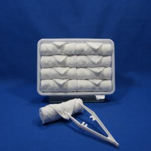 Best Square Disposable Airline Towel Checker wholesale